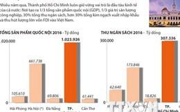 [Infographics] Thành phố Hồ Chí Minh: Đầu tàu kinh tế của cả nước