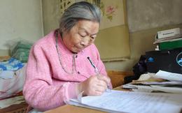 Mắc liên tiếp 5 căn bệnh ung thư, cụ bà hơn 90 tuổi vẫn vui vẻ vẽ tranh mỗi ngày