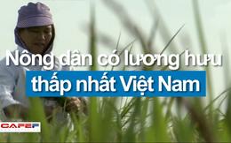 Nông dân có mức lương hưu thấp nhất Việt Nam: 350.000 đồng/tháng