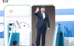 Ảnh: Chủ tịch Trung Quốc rời Hà Nội, kết thúc chuyến thăm Việt Nam