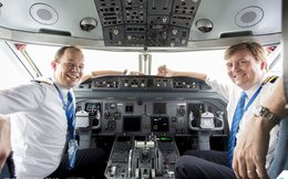 Vua Hà Lan bí mật lái máy bay chở khách trong 21 năm qua
