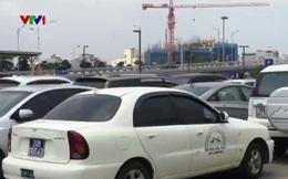 Vẫn còn nhiều ô tô biển xanh xuất hiện tại các khu vui chơi