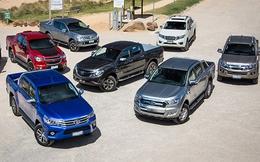 Gần 100% ô tô bán tải nhập từ Thái Lan, giá trung bình 19 nghìn USD/chiếc