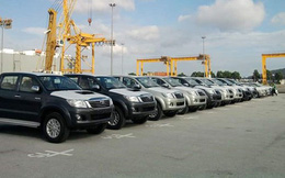 Ô tô từ Thái Lan và Indonesia nhập về Việt Nam bất ngờ tăng mạnh