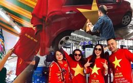 Một không khí rất khác trước ngày diễn ra trận chung kết U23 Châu Á: Màu cờ sắc áo đã tràn ngập khắp phố phường!