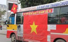 """Muôn kiểu trang điểm xe hơi và người trước trận đấu """"lịch sử"""" của U23 Việt Nam"""