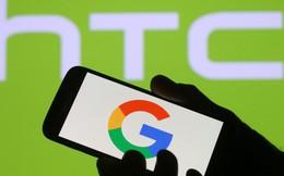 Google hoàn tất thương vụ mua bộ phận sản xuất điện thoại của HTC