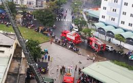 Cháy lớn ở chung cư, hàng trăm người dân tháo chạy ra ngoài