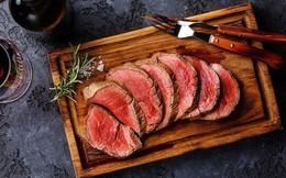 Ăn một ít thịt bò rất tốt nhưng nếu ăn quá số lượng này sẽ có nguy cơ mắc 2 bệnh ung thư