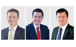 """3 """"Sếp"""" Techcombank nhận thưởng 300.000 cổ phiếu TCB"""