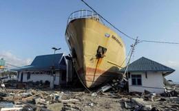 Đất hóa lỏng, cả một khu dân cư bị nuốt chửng sau thảm họa kép ở Indonesia