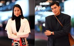 """Sự kiện ra mắt ô tô VinFast: Khách mời đặc biệt Hoàng Thùy, Quang Đại xuất hiện với phong thái chuyên nghiệp trong buổi diễn tập trước """"giờ G"""""""