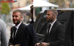 HOT: David Beckham vừa xuất hiện đầy phong độ và đẳng cấp tại sự kiện ra mắt ô tô VINFAST ở Paris!