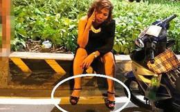 """Chiếc giầy cao gót """"hại"""" nữ lái xe BMW gây tai nạn kinh hoàng?"""