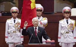 Tổng Bí thư, Chủ tịch nước Nguyễn Phú Trọng tuyên thệ nhậm chức