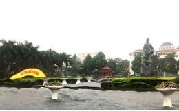 Ảnh: Sau cơn mưa lớn, TP Thanh Hóa biến thành sông