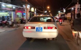 Danh tính người cầm lái xe biển xanh giả, bật còi ưu tiên gây náo loạn đường phố