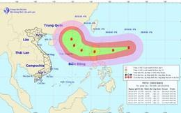 Siêu bão Yutu đang hoạt động gần Biển Đông