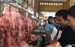 Giá thịt heo giảm khá mạnh