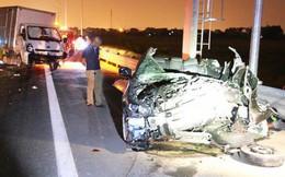 Tai nạn kinh hoàng trên cao tốc Hải Phòng - Quảng Ninh, 2 người tử vong