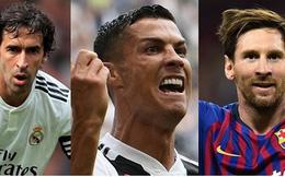10 chân sút vĩ đại nhất lịch sử Champions League: Messi kém xa Ronaldo