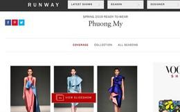 Việt Nam đã có nhà thiết kế thứ 2 đường đường chính chính lên Vogue Mỹ, và đó là Phương My!