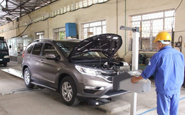 Bộ GTVT rút ngắn thời gian làm thủ tục đăng kiểm ô tô