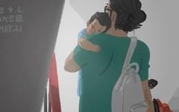 """Bộ tranh """"Bởi vì sau tất cả, con chính là bình yên của bố"""" làm bạn chỉ muốn được về nhà ngay lập tức"""