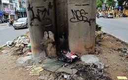 Video: Gầm đường sắt trên cao Cát Linh - Hà Đông nhếch nhác, đầy rác