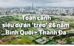 [Infographic] Toàn cảnh siêu dự án 'treo' 26 năm đang chờ nhà đầu tư ở TP HCM