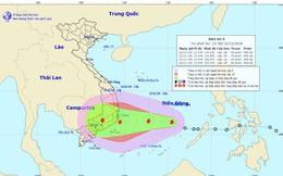 Bão số 9 sắp đổ bộ vào các tỉnh từ Bình Định - Bình Thuận