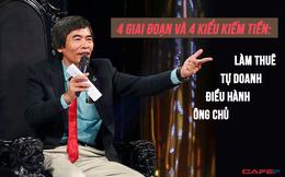"""Tiến sĩ Lê Thẩm Dương: Muốn """"khá"""" lên được thì mỗi người cần phải hiểu được 4 giai đoạn và 4 cách kiếm tiền này"""