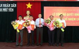 Phú Yên điều động và bổ nhiệm 02 Giám đốc Sở và Chánh Thanh tra tỉnh