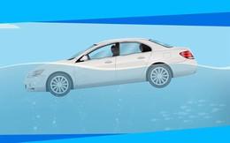 Xử trí thế nào khi ôtô đang chìm?