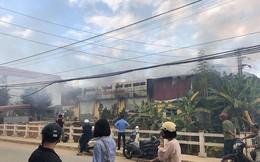 Lạng Sơn: Cháy lớn ở cơ sở in Thiên Ngân