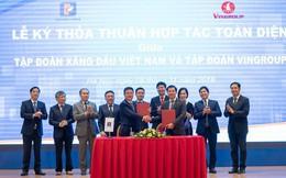 Sau PV Oil, Vingroup tiếp tục bắt tay với Petrolimex xây dựng hệ thống trạm sạc và cho thuê pin dành cho xe điện