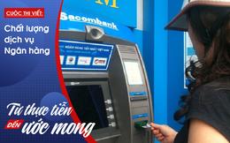 """""""Giải cứu"""" thẻ ngân hàng bị nuốt ở cây ATM ngay trong đêm"""