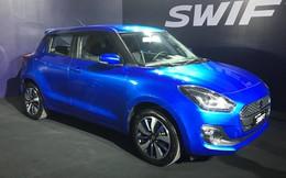 Suzuki Swift ra mắt thị trường Việt giá bán 499 triệu đồng với 5 màu lựa chọn, cạnh tranh cùng Mazda2