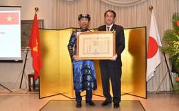 Cựu Cục trưởng Cục đầu tư nước ngoài được Hoàng gia, Chính phủ Nhật Bản trao tặng Huân chương mặt trời mọc