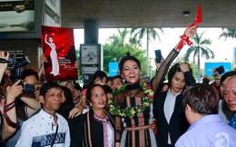 """H'Hen Niê bật khóc nức nở khi vừa đặt chân về Việt Nam sau hành trình """"thần thánh"""" tại Miss Universe 2018"""