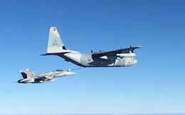 Mỹ mất hai máy bay trong một tai nạn ngoài khơi Nhật Bản