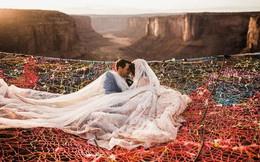 """Chiêm ngưỡng đám cưới tuyệt vời """"giữa lưng trời"""", điều lãng mạn cặp đôi nào cũng mơ ước"""