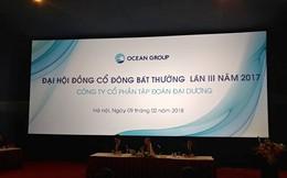 ĐHCĐ bất thường Ocean Group: Trả lời thẳng về Công ty liên quan ông Hà Văn Thắm