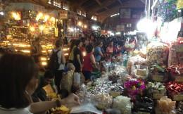 Bánh kẹo, mứt tết 'ba không' đổ bộ chợ Sài Gòn