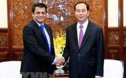 Chủ tịch nước Trần Đại Quang tiếp Tổng Giám đốc Tập đoàn Tata