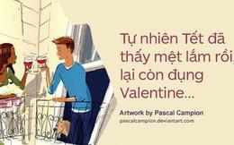 Valentine trùng dịp Tết Nguyên Đán, các cặp đôi yêu nhau nói gì?