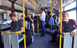 Buýt miễn phí vào sân bay Tân Sơn Nhất hút khách