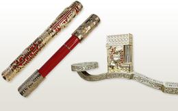 Chiêm ngưỡng bộ đôi sản phẩm bút và bật lửa phiên bản riêng cho năm Mậu Tuất - Biểu tượng cho tài sản và quyền lực của đàn ông quý tộc