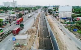 Toàn cảnh nút giao thông kỳ vọng sẽ làm giảm ùn tắc cho toàn khu Đông TP.HCM