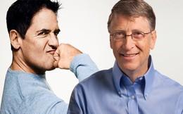 """Bill Gates, Mark Cuban làm gì khi nhận được tấm chi phiếu """"khủng"""" đầu tiên?"""